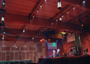 The church had Barbizon replace not only their stage lighting ... & Be intentional about effective lighting - Church Executive