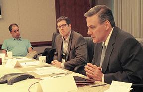 Left-to-right--William-Scrivens-(Miller-Dodson-Associates,-Inc.);-Steve-Hron-(Ziegler);-Dan-Mikes-(Bank-of-the-West)