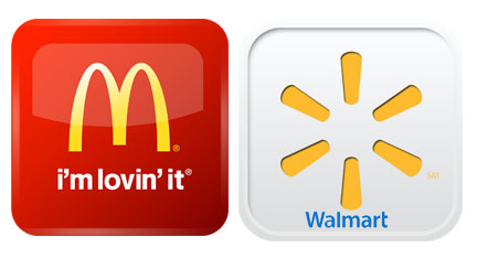 Walmart Corporate Contact >> WEB-EXCLUSIVE ARTICLE: Walmart and McDonalds have apps ...