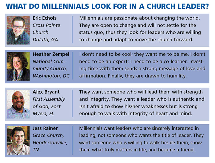 How To Reach And Lead The Millennials Church Executive