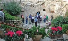 Visit the garden tomb