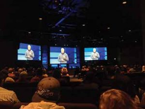 Pastor Don Wilson at the Scottsdale, AZ campus of Christ Church of the Valley