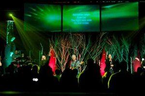 A Christmas worship service at Shore Fellowship