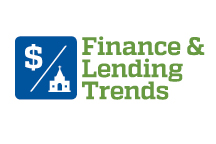 FINANCE AND LENDING TRENDS ICON