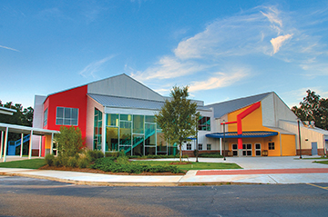 The First Baptist Church Covington Recreation and Outreach Center in Covington, LA - Butler