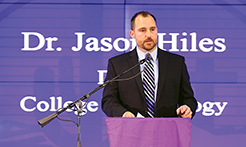 Dr. Jason Hiles, dean of GCU's College of Theology