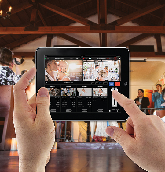 Teradek's free Live:Air app is a turn-key solution for beginners and a feature-packed workflow for experts. A portable setup for capturing retreats and gatherings in the field.