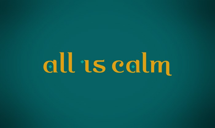 all-is-calm