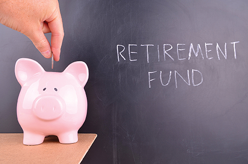 RETIREMENT FUND BLACKBOARD