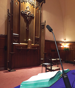 The DPA SC4098 podium microphone