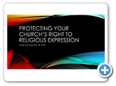 Protecting Your Church's Right to Religious