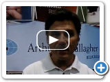 Peter Persuitti (Arthur J. Gallagher) on the Finance/Fundraising round-table at NACBA