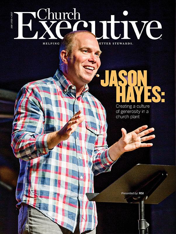JASON HAYES: Creating a Culture of Generosity in a Church Plant -- Shoreline Church