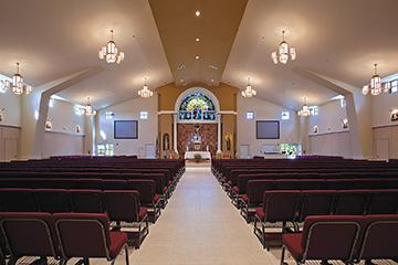 Blessed John XXIII Catholic Church (Miramar, Fla.) Photo courtesy of Lemartec Engineering & Construction Corporation