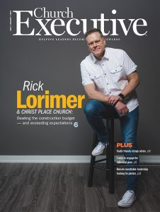 RICK LORIMER & CHRIST PLACE CHURCH: Beating the construction budget — and exceeding expectations
