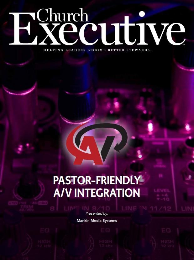 Pastor-Friendly A/V Integration