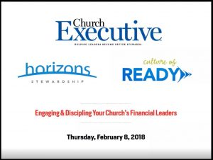 financial leaders generosity webinar