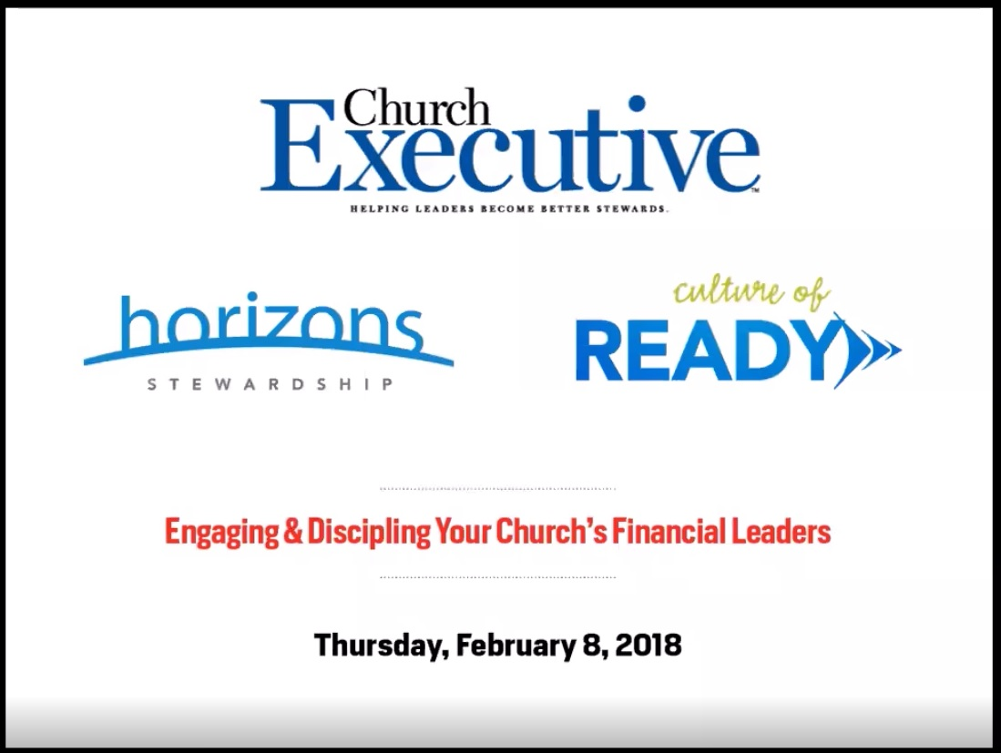 Webinar: Engaging and Discipling Your Church's Financial Leaders
