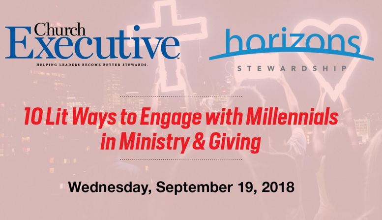 10 Lit Ways to Engage with Millennials in Ministry & Giving