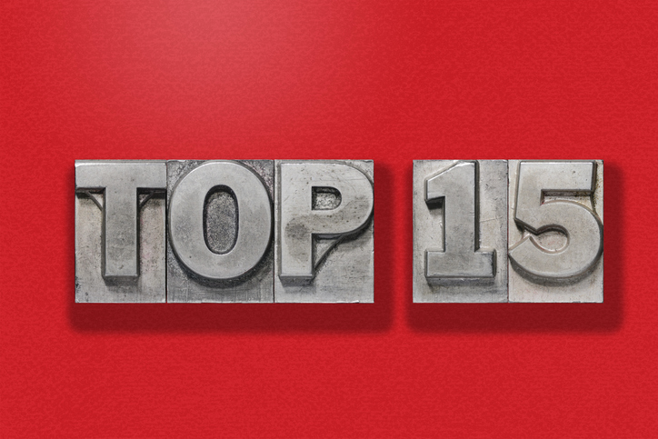 Top 15 Articles of 2018