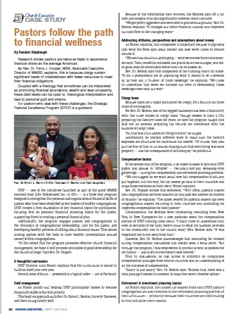 PASTORS FOLLOW THE PATH TO FINANCIAL WELLNESS