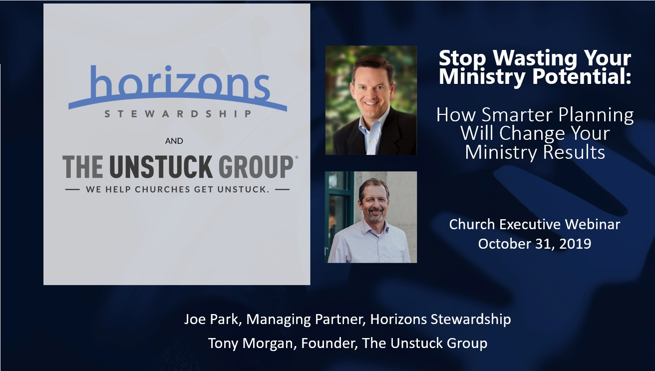 Stop Wasting Your Ministry Potential: How Smarter Planning Will Change Your Ministry Results